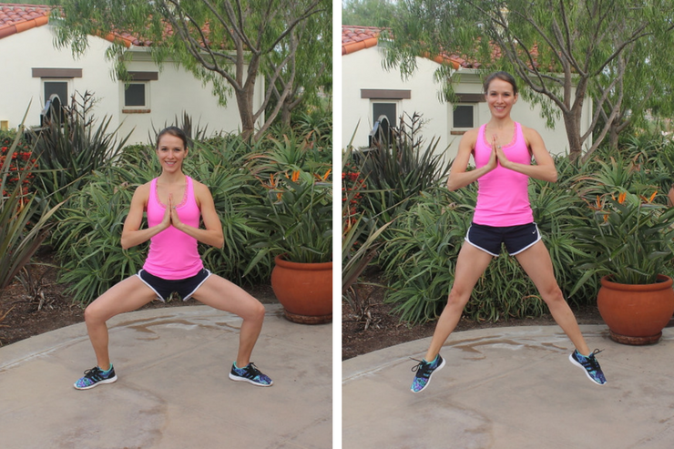 Lower Body Cardio Tabata - Sumo Squat Jumps