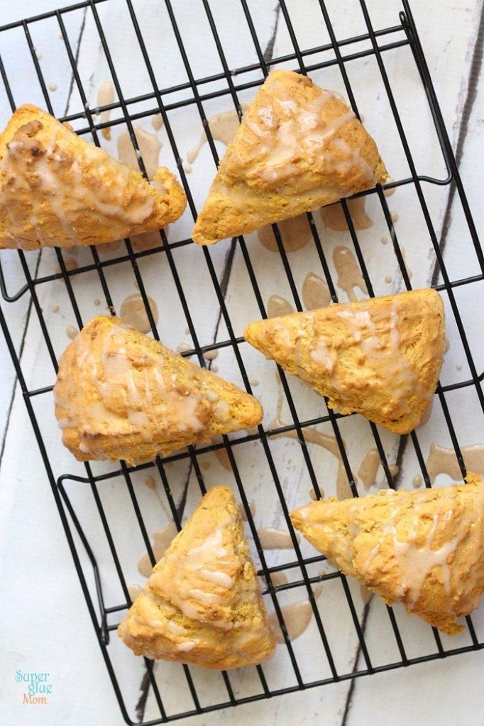 paleo pumpkin scones
