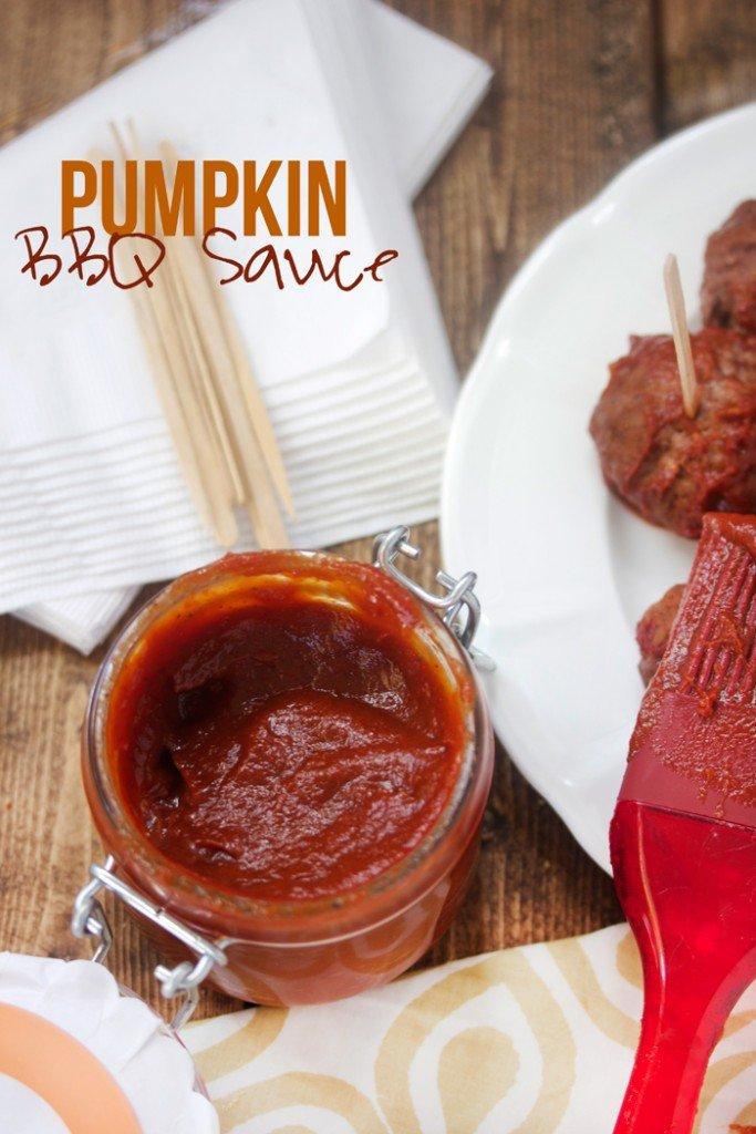 pupmkin BBQ sauce