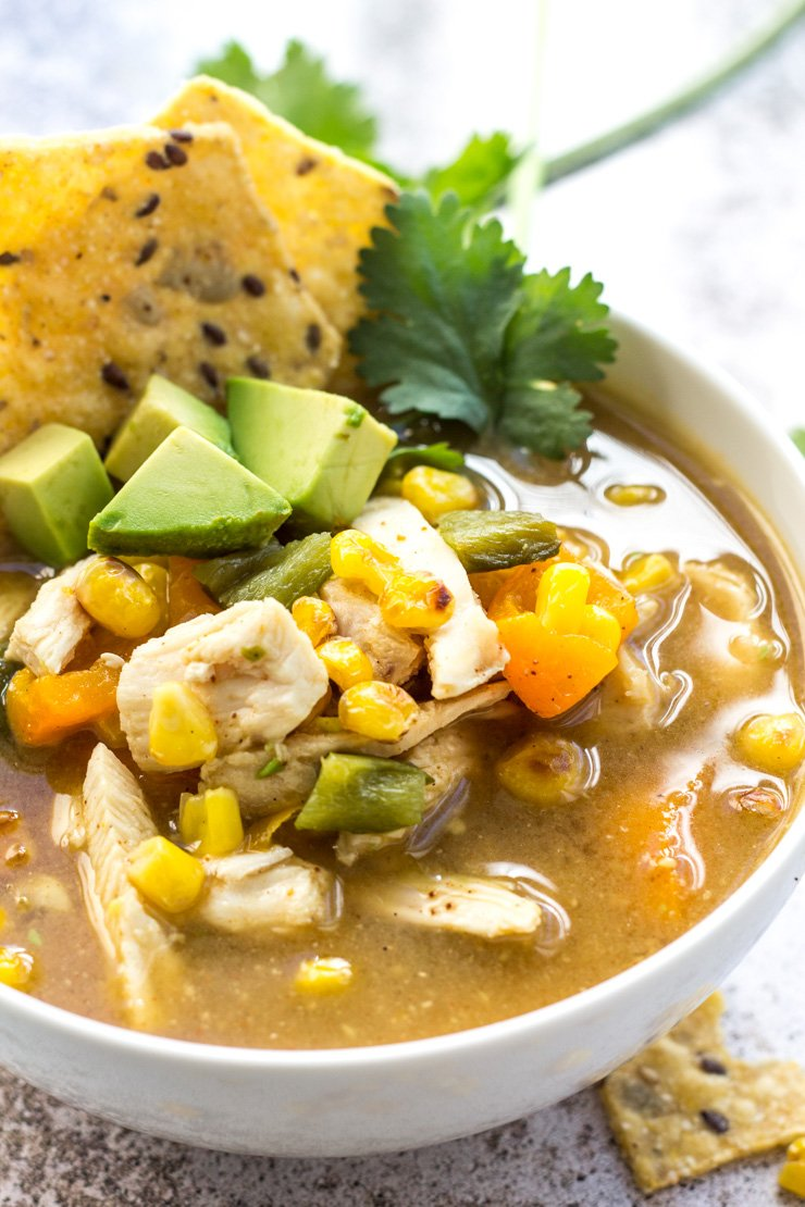 A skinny soup that tastes like it shouldn't be. And so easy to make, tastes great reheated, and one the whole family will love.