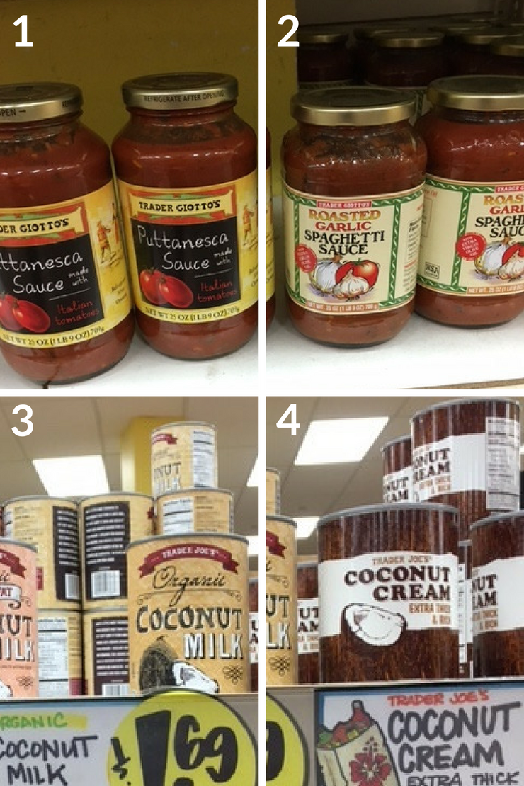 The ultimate Trader Joe's Whole30 Shopping List - sauces/creams