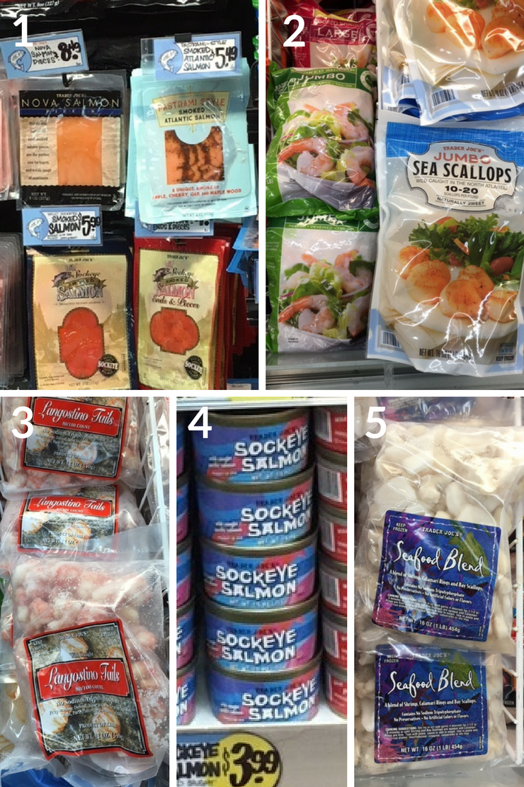 The ultimate Trader Joe's Whole30 shopping list - seafood