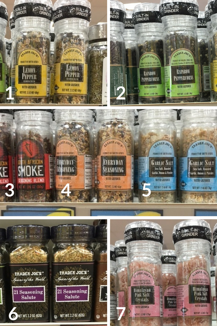 The ultimate Trader Joe's Whole30 Shopping List - spices