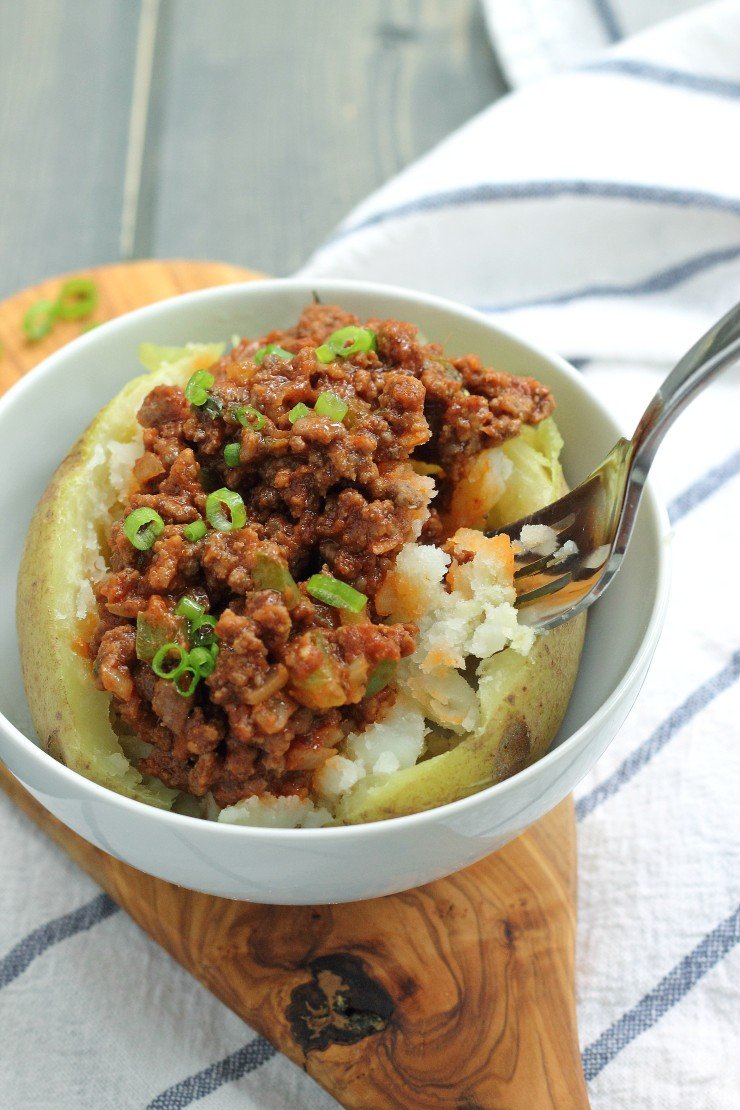 Super clean and whole30 compliant sloppy joes in BOWL form! You'll love this recipe - a family favorite