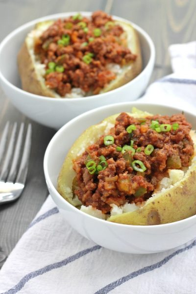 Whole30 Sloppy Joe Bowls