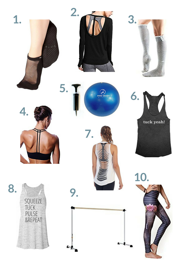 Barre gift guide - the perfect items for barre-addicts this holiday season