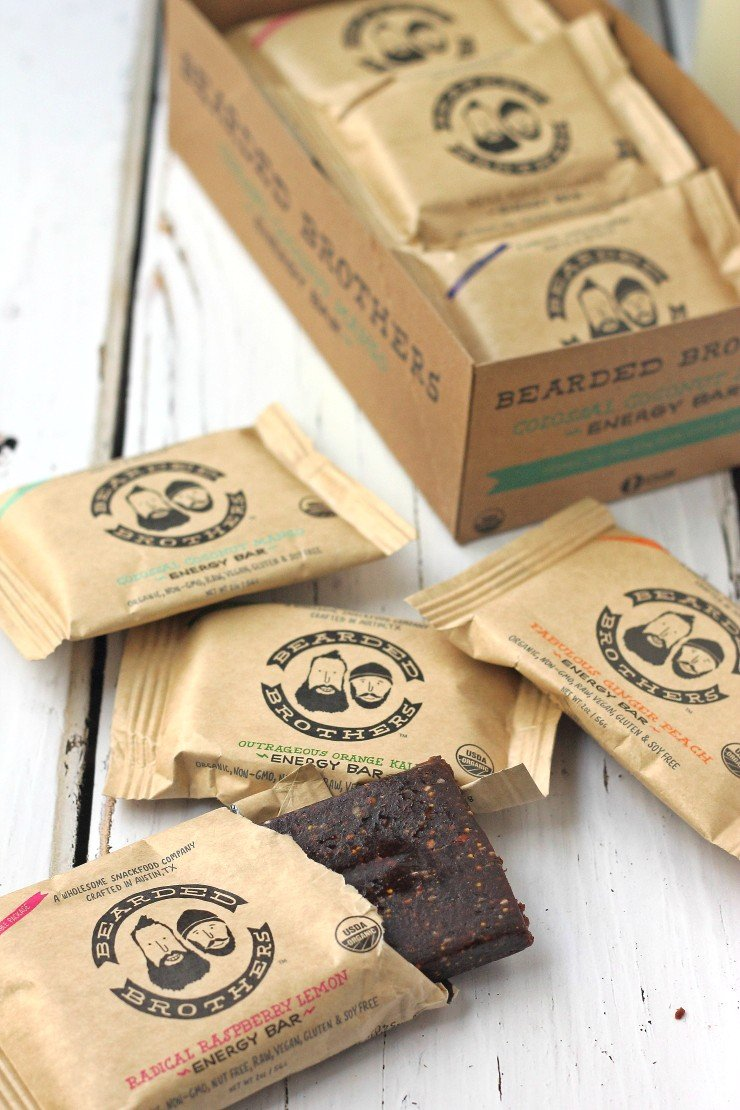 Bearded Brothers Energy Bars - a healthy and unique holiday food gift!