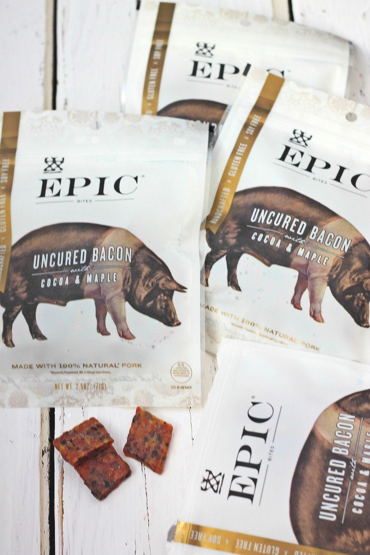 Epic Bacon Bites - a healthy and unique holiday food gift!
