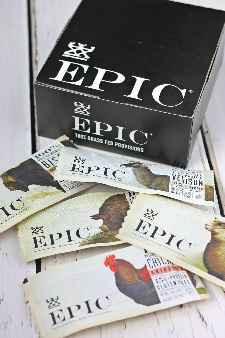 Epic Bar - a healthy and unique holiday food gift!