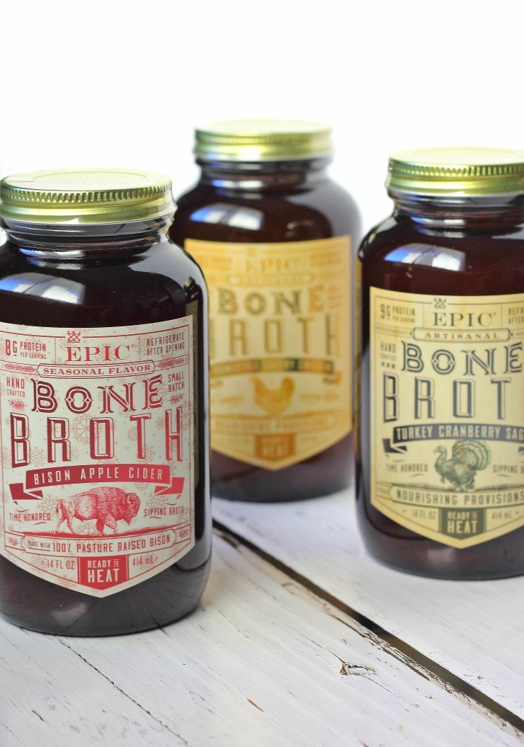 Epic Bone Broth - a healthy and unique holiday food gift!