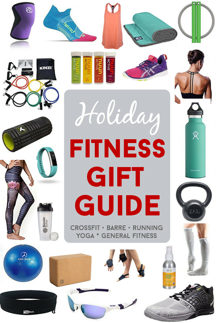 The ultimate gift guide for ALL fitness enthusiasts. A variety of options for barre, crossfit, yoga, running, and general fitness enthusiasts