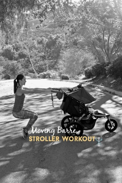 Moving Barre Stroller Workout