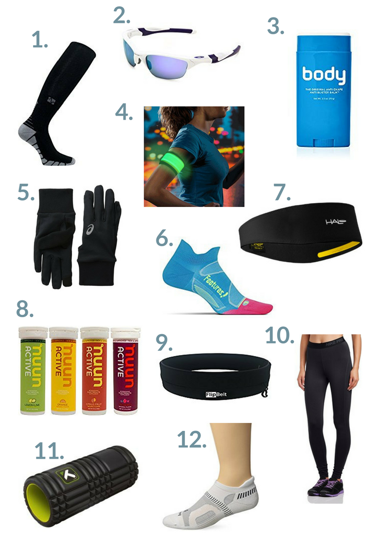 Running gift guide - the perfect items for runners this holiday season