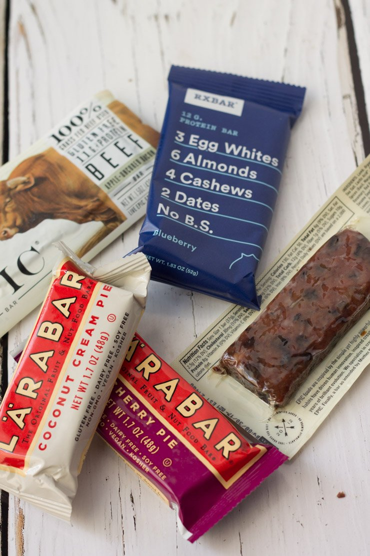 Keeping a few compliant energy bars is a hack to make whole30 easier!
