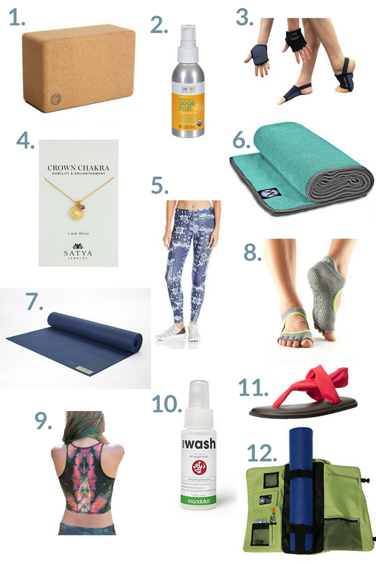 Yoga gift guide - the perfect items for yogis this holiday season