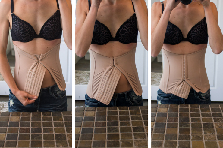 Healing diastasis recti part 2 - using the Mother Tucker corset