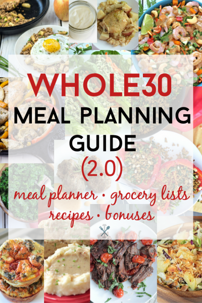 Whole30 Meal Planning Guide 2.0