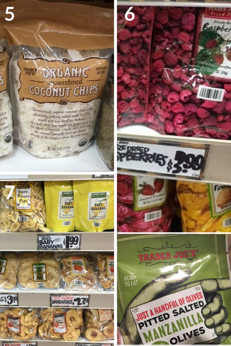 Whole30 Trader Joe's shopping guide - snacks