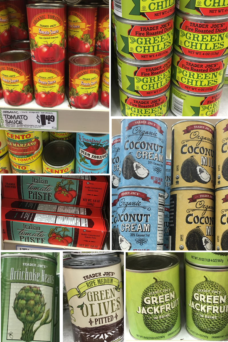 Trader Joes Whole30 Shopping List Canned Goods