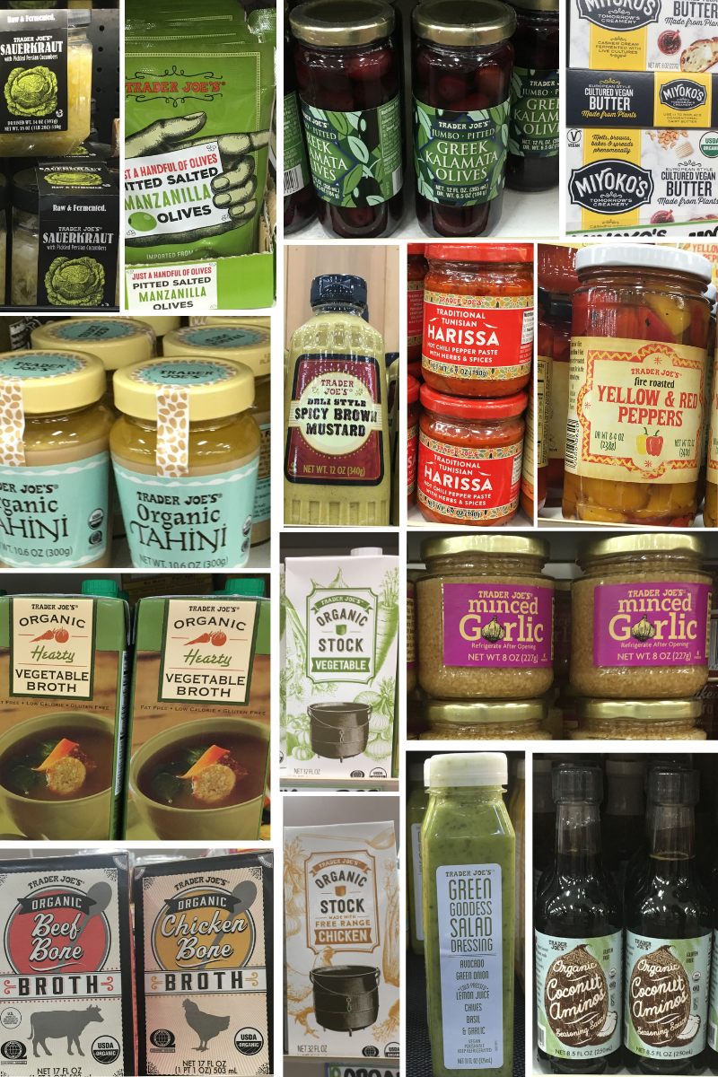 Trader Joes Whole30 Shopping List Condiments