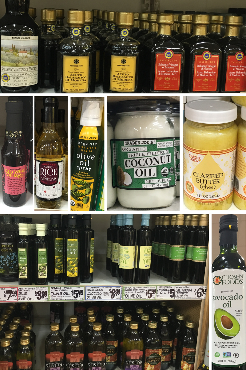 Trader Joes Shopping List Cooking Oils