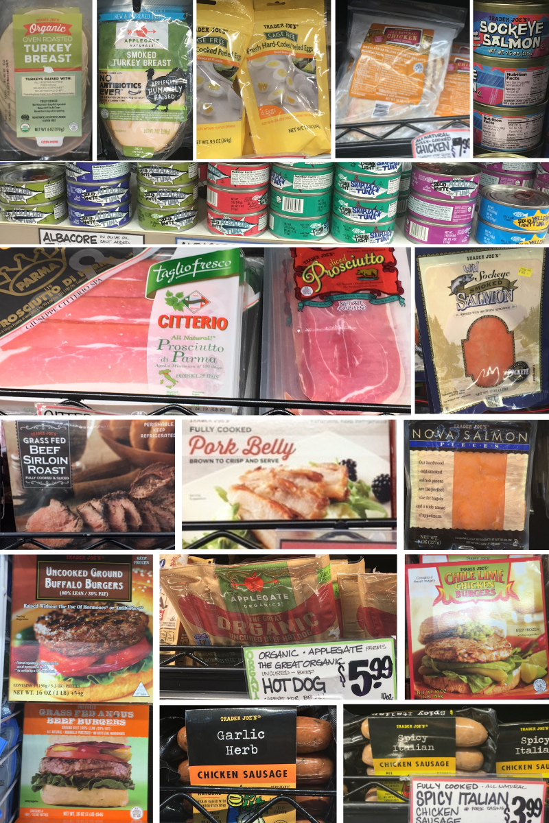 Trader Joes Whole30 Shopping List Meat
