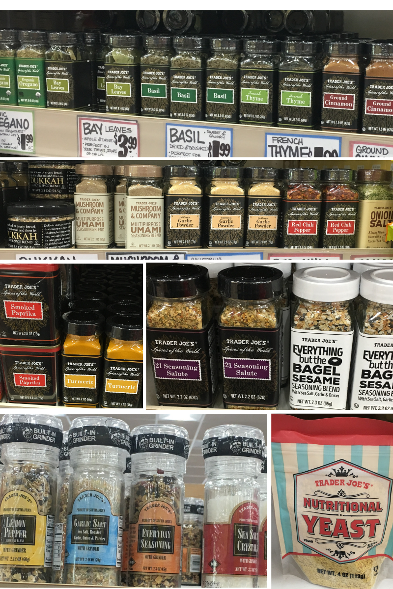 Whole30 Trader Joes Spices