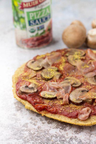 Paleo Plantain Pizza Crust