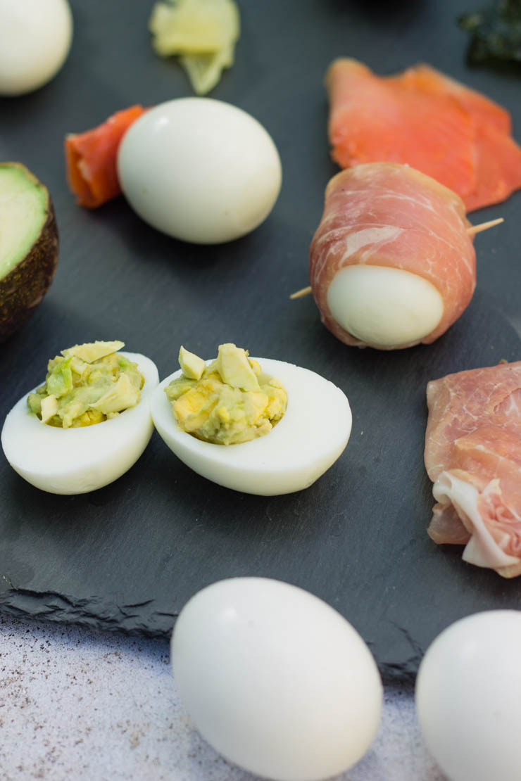 5 variations to add some flair to hard boiled eggs