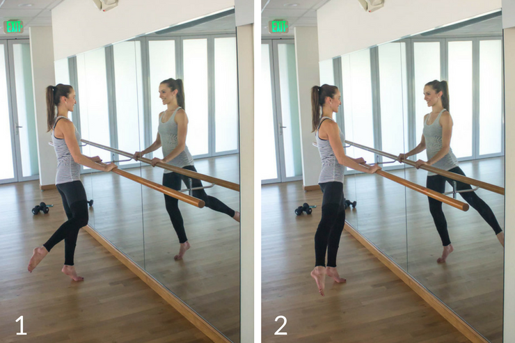 10 minute express barre workout you can do at home! Gluten extensions