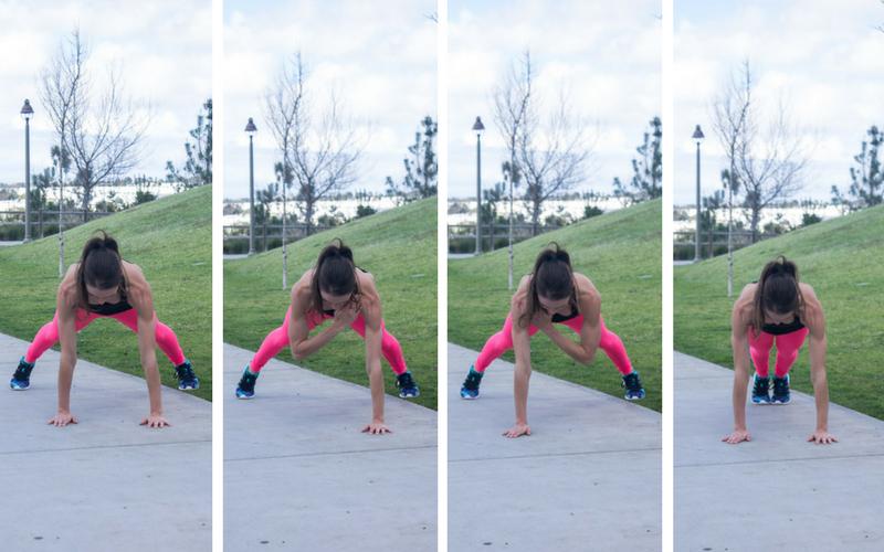 30-minute home hiit workout - plank jack shoulder taps
