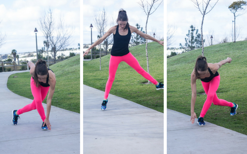 30-minute home hiit workout - speed skaters