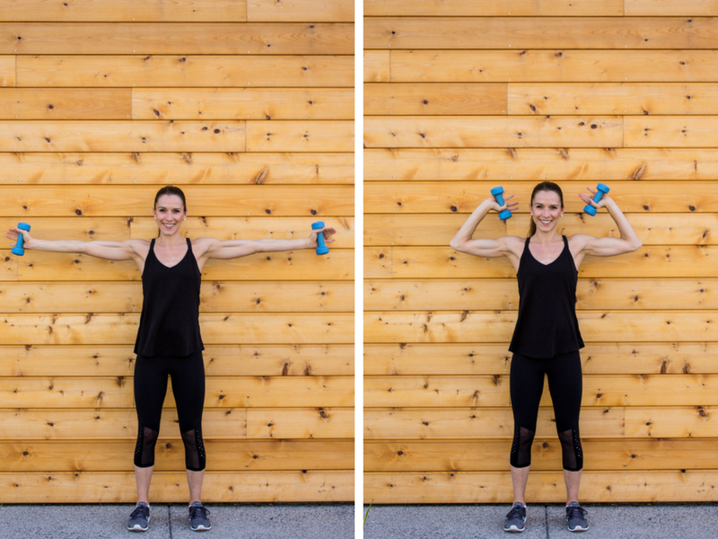 Sculpted Barre Arm Workout - T Hammer Curls
