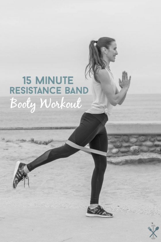 Resistance Band Butt Workout You Can Do Anywhere!! - YouTube