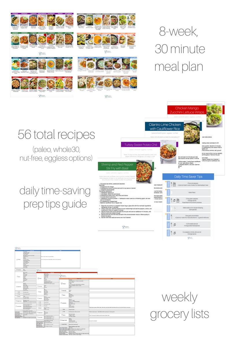 8-Week Meal Plan (56 Recipes)