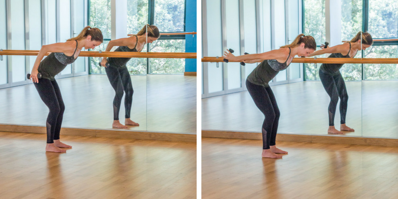 Advanced Sculpted Barre Arms - tricep extensions