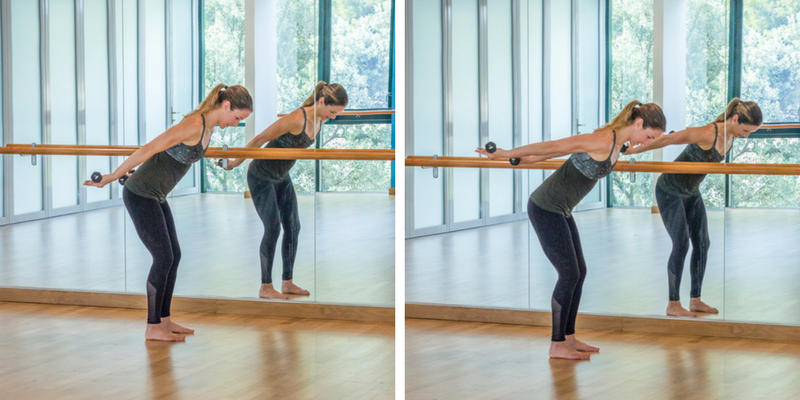 Advanced Sculpted Barre Arms - tricep pulses