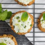 A simple, paleo cookie that's eggless and made with only 5 ingredients, tasting just like a fresh mojito!