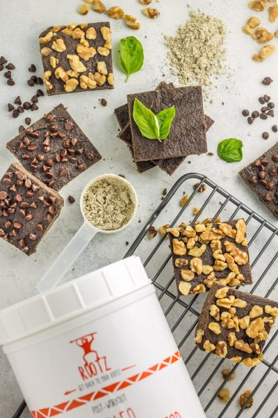 Paleo Protein Brownies 3 Ways