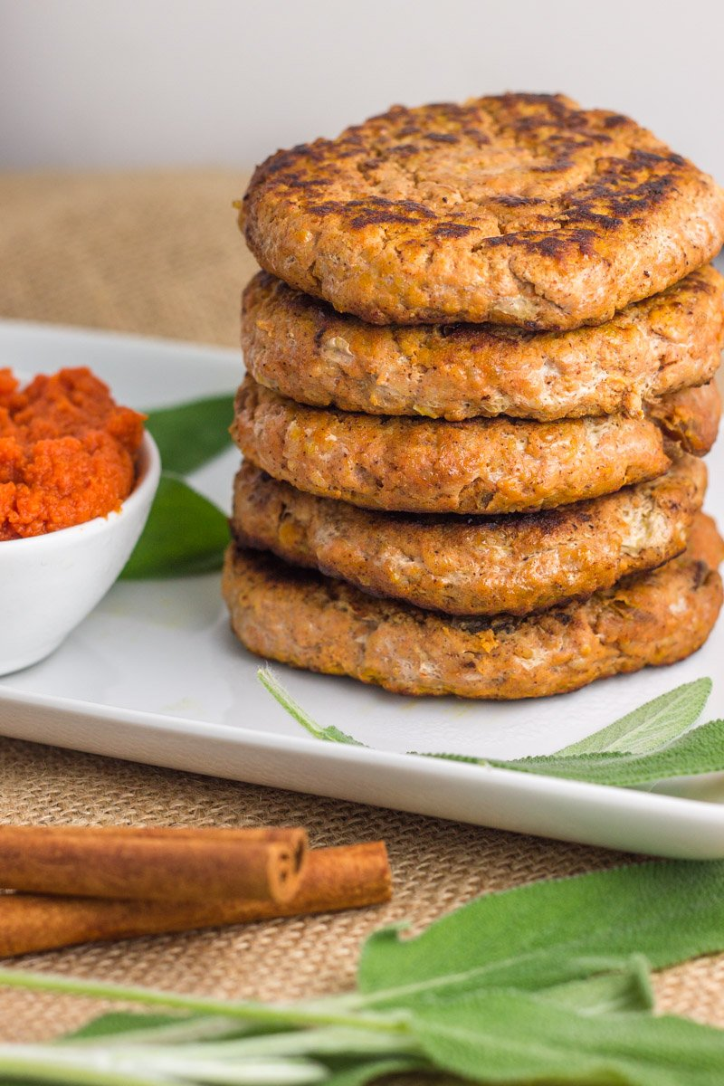 4 Ingredient Pumpkin Breakfast Sausages