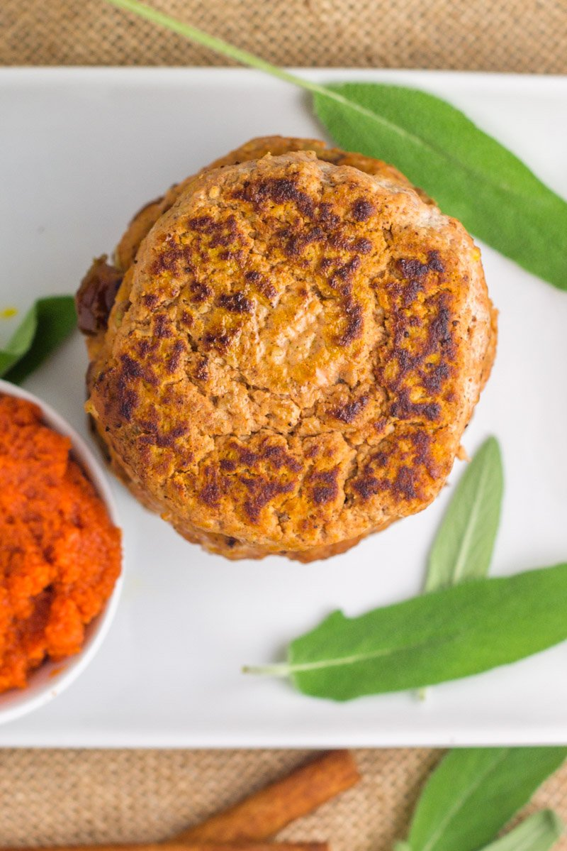 Pumpkin sausage patties - made with a handful of simple ingredients. A great paleo or Whole30 breakfast