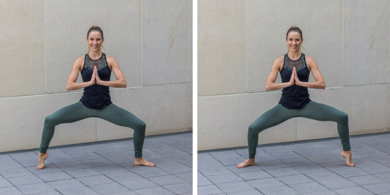 No Bare Barre Workout - wide second heel lifts