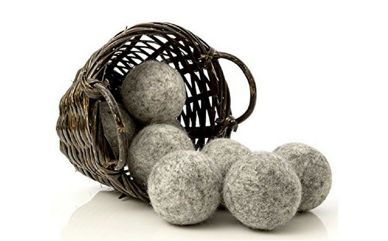 Practical holiday gift - wool dryer balls
