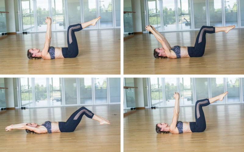 Diastasis Friendly Fully Body Workout - Weighted Bed Bugs