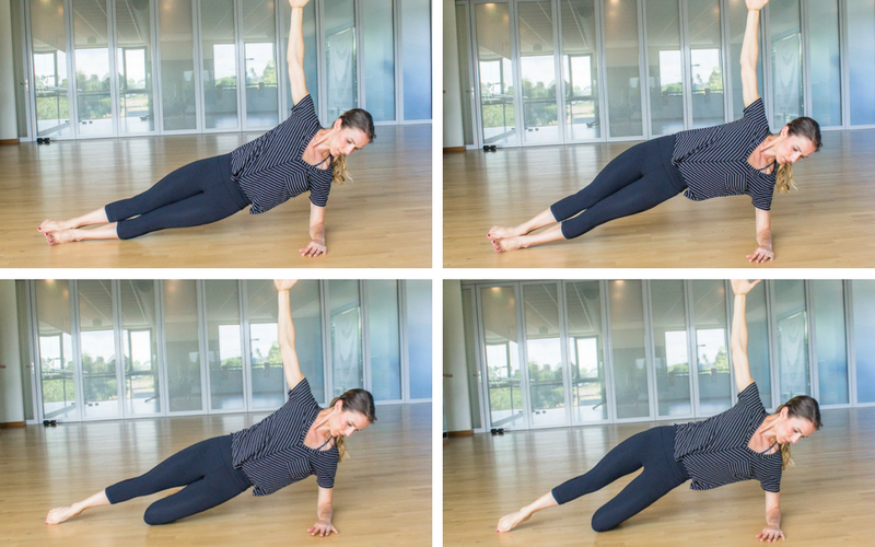 Diastasis Friendly Fully Body Workout - Side Plank Hip Lifts