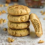 These grainless, paleo maple walnut cookies are soft and chewy, and hands DOWN the best cookie I've ever tasted. Made with simple ingredients and perfect for dipping in coffee. Dairy free, gluten free