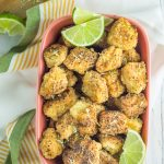 These fried mahi bites are a hit with kids and adults. A healthy fish meal that's paleo, Whole30 compliant, and gluten free. So easy too!