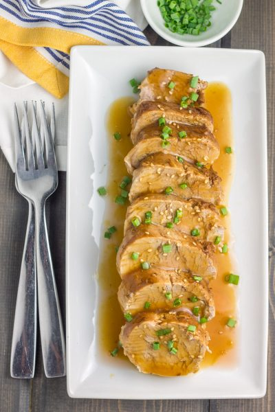 Whole30 Instant Pot Teriyaki Pork Tenderloin