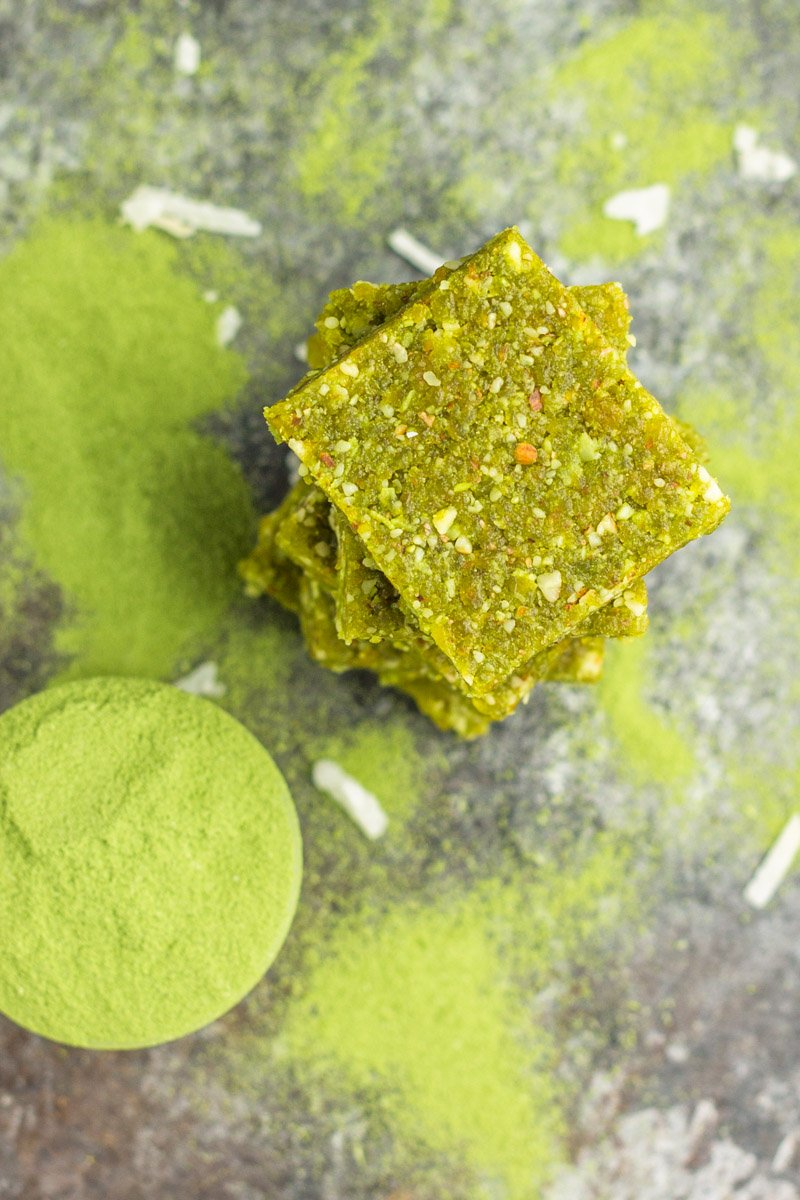 These matcha bites are whole30 compliant and made with just a handful of ingredients.