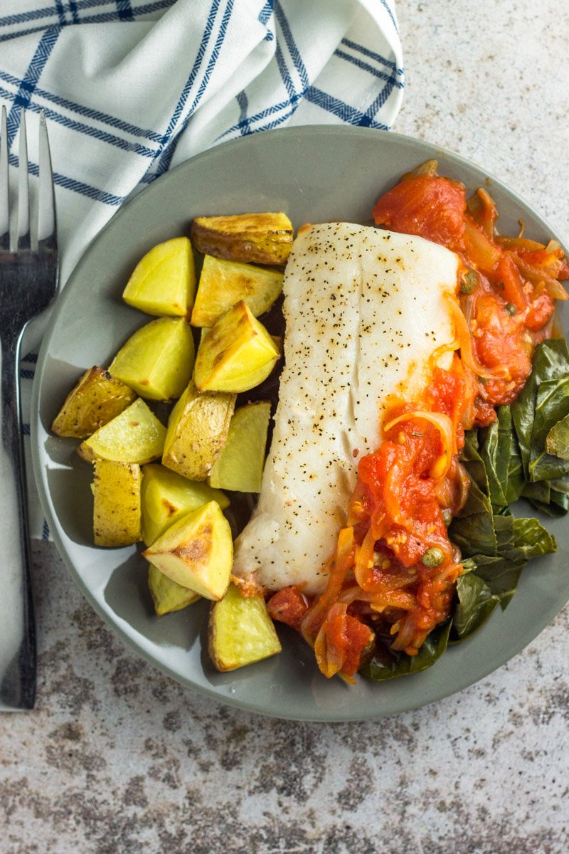 Blue Apron Cod - Whole30 approved